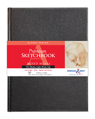 Hardcover - Alpha Premium Sketchbooks