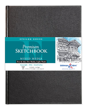 Wirebound - Epsilon Premium Sketchbooks