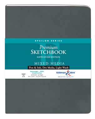 Softcover - Epsilon Premium Sketchbooks