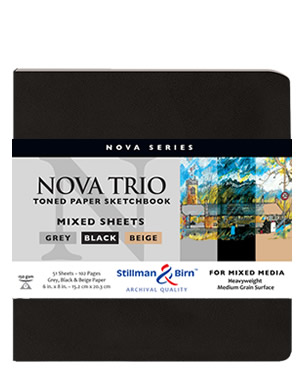 Softcover - Nova Trio Premium Sketchbooks