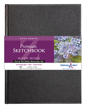 Wirebound - Zeta Premium Sketchbooks