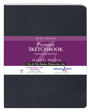 Softcover - Zeta Premium Sketchbooks