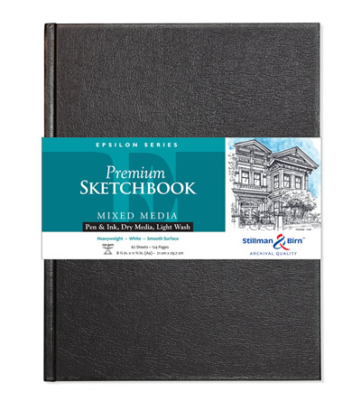 Epsilon Premium Sketchbook Series