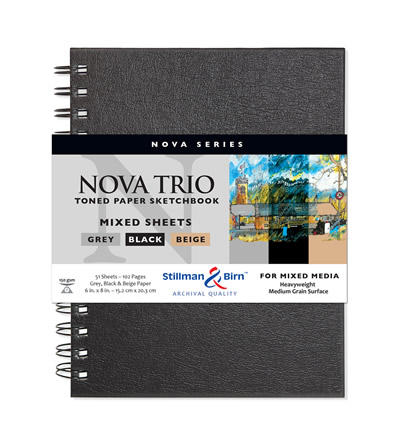 Nova Trio Premium Sketchbook Series
